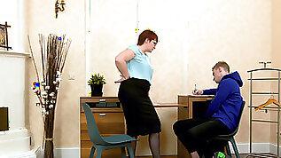 Picky tutor seduces her naughty student