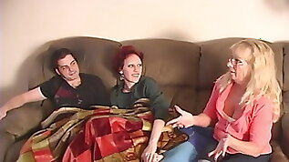 Taboo Brother and Sister Caught by MOM