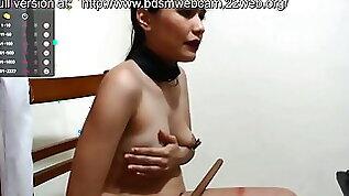 Valeeryhott slave destruction nipples self spank stic.