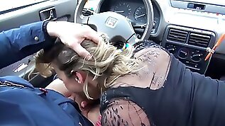 Real busty Honey Diamond is hammered mish by black hunk