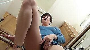 Upskirt step mother close up virtual mother point of view
