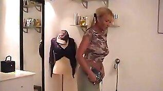 Danish pornstar Mette vintage clip