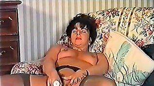 Classic Pornstar Sarah Plays With Toys