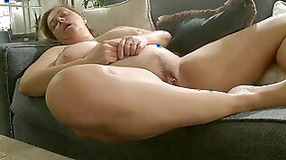 Toasted sleeping mummy unwrapped in her sleep