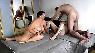 Wank bisexual threesome gay