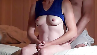 Fit wifey has mighty ejaculation