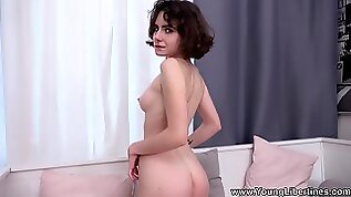 Wild fucking in the morning with naughty amateur brunette babe Darcy Dark