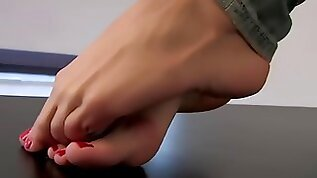 Foot fetish amp foot model lea