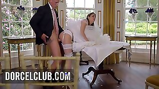 Cara Saint germain French Bride Fucked By The Best Men