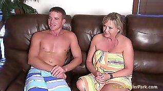Real interview with mom and son