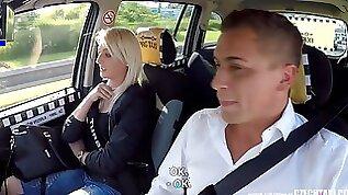 Unbelievable Reality Strangers Voyeurs Watching Czech TAXI