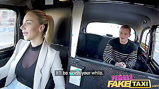 Female Fake Taxi Lucky guy gets hot fuck session with Czech babe