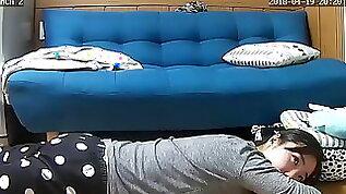 Korean babe hacked webcam crazy mast