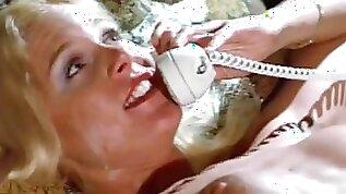 Kinky Retro Nurse Cris Cassidy Gets Facialized Twice