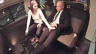 VIP SEX VAULT Cheating Antonia Sainz Bangs With The Driver