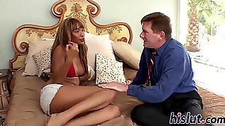 Hot interracial session with an ebony stunner