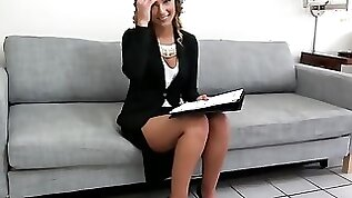PropertySex Beautiful Agent Fucks Home Owner for Agree to Sell Signature