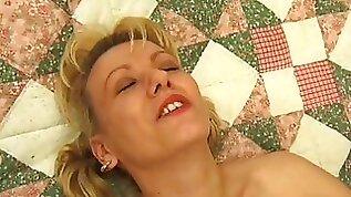 Blonde Whore in Interracial Hardcore Black Cock Sex