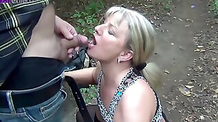 Taking Strangers Pee In The Woods