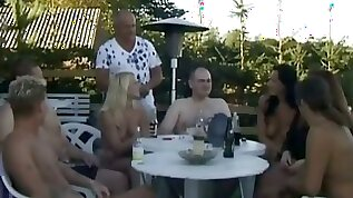 Awesome Group Sex Going Down In Greece With Horny Gals Who Blow And Fuck