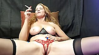 Truly Smoking and Fingering
