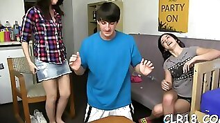 Dick enters juicy holes teen feature