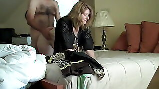Mature busty wife cheats on husband with his friend