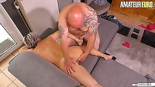 Chubby German Mature Gets Fucked Hard By Her Kinky Husband