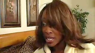 Black women tests her daughters boyfriend