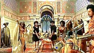 Femi Benussi nude belly dancing