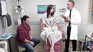 Breathtaking Housewife Needs Sperm Of Her Mature Doctor