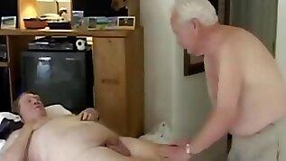 Mature men massage