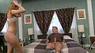 Lucky With Big Erected Dick Waits For Succulent Booty
