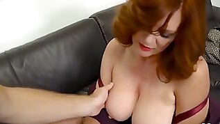 Mom teaches me about sex