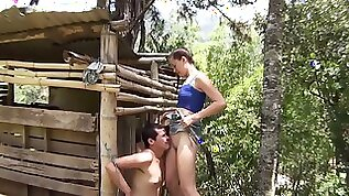 Latina teen dominate slave christopherl outdoor at farm