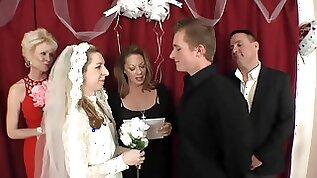 FAMILY WEDDING DAY CREAMPIE